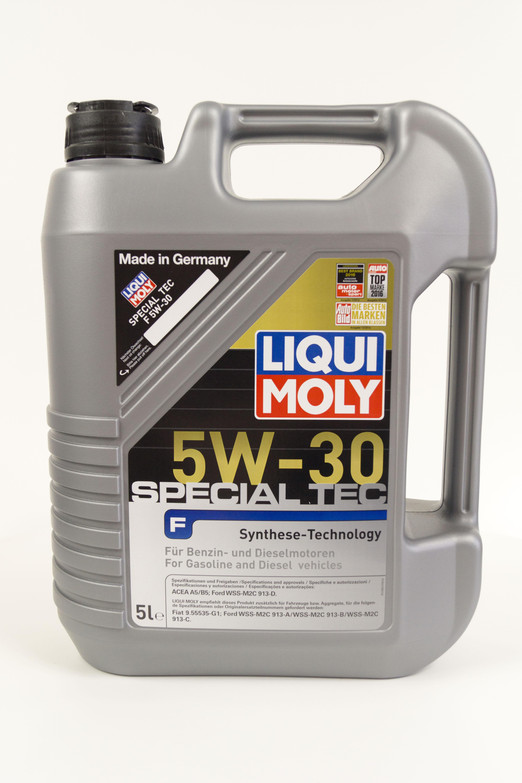 LIQUI MOLY Special Tec F 5W-30, HC-синтетическое (8064)