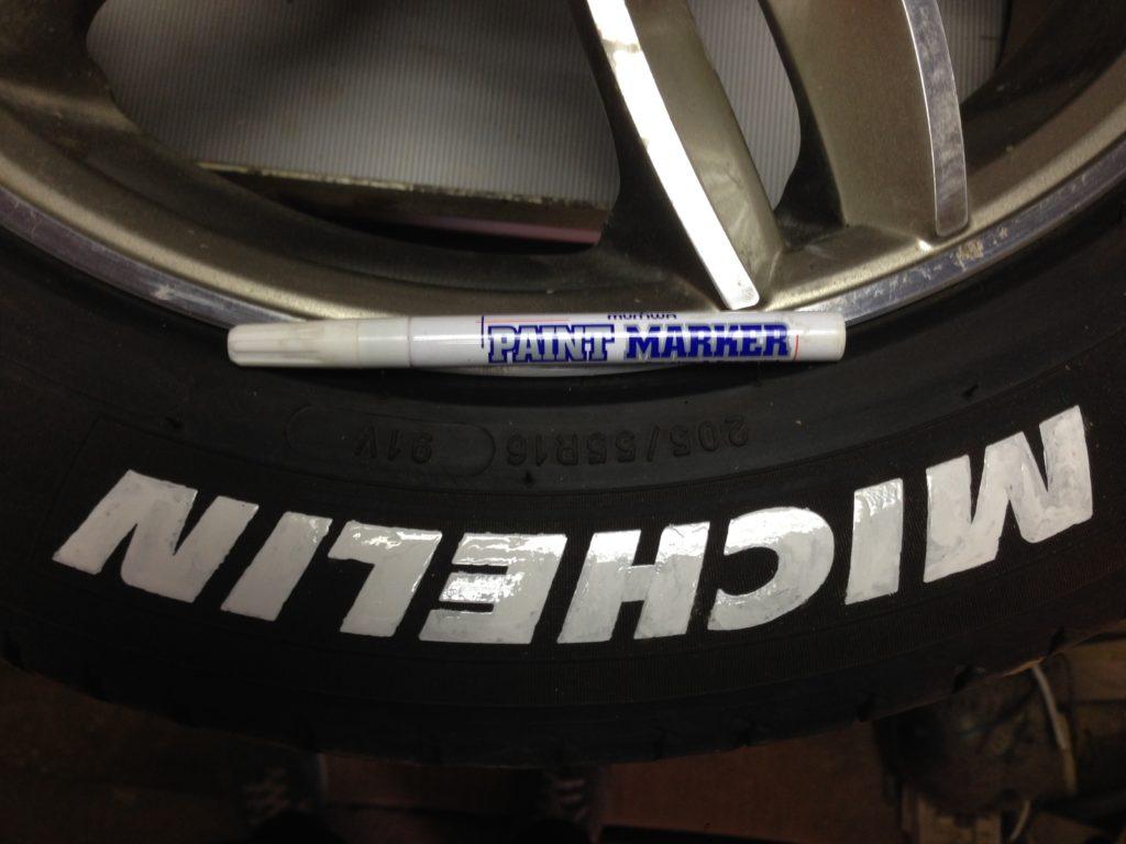 paint marker на колесах