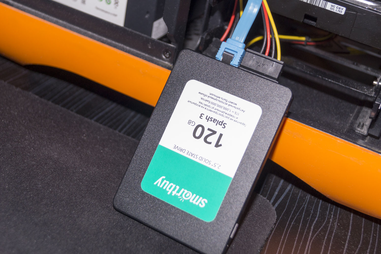 Обзор на SSD диск SMARTBUY Splash 3 120 Гб 3D TLC (SB120GB-SPLH3-25SAT3)