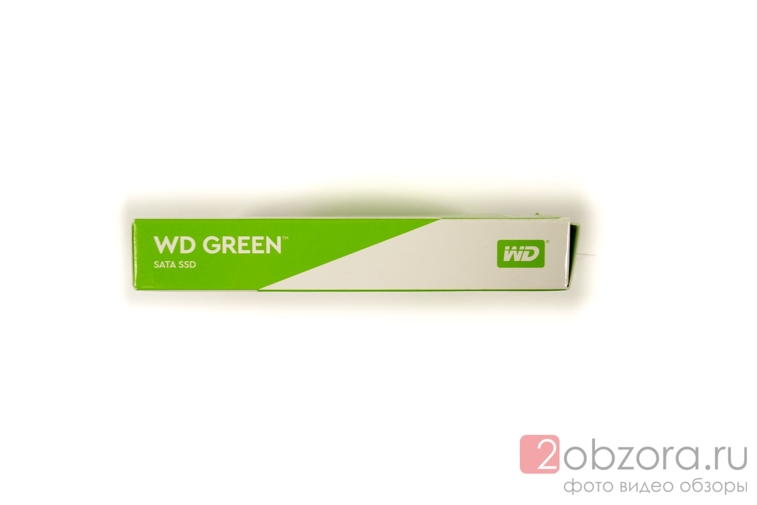 Обзор на SSD диск WESTERN DIGITAL Green 120Gb 3D TLC (WDS120G2G0A)
