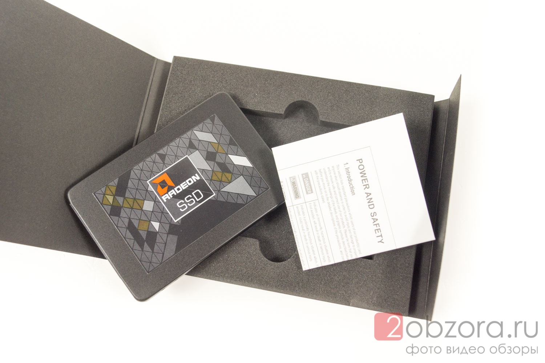 Обзор на SSD диск AMD Radeon R5 120 Гб 3D TLC R5SL120G