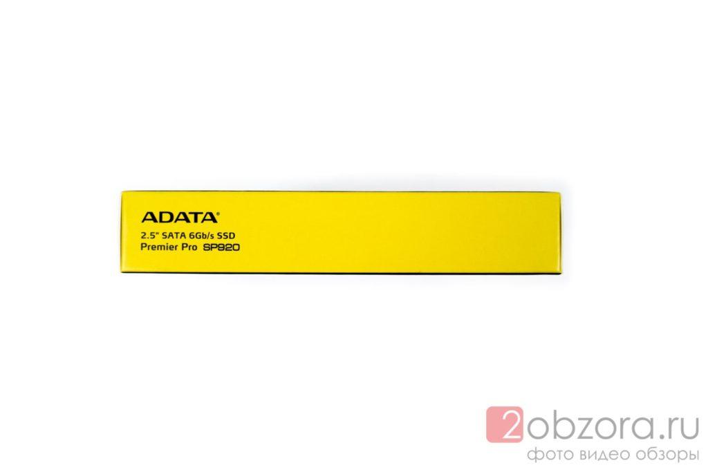 Обзор на SSD диск ADATA Premier Pro SP920 128 Гб MLC ASP920SS3-128GM-C 2obzora.ru