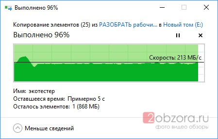 Обзор на SSD диск PALIT 120GB TLC UVSE-SSD120