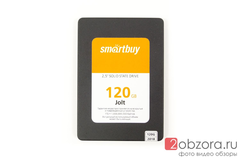SSD диск SMARTBUY Jolt 120 Гб TLC 3D NAND (SB120GB-JLT-25SAT3)