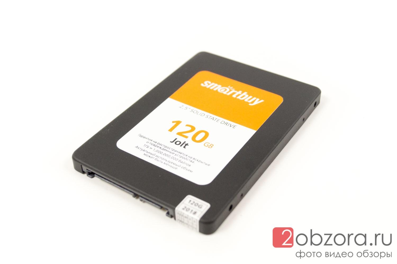 Обзор на SSD диск SMARTBUY Jolt 120 Гб TLC 3D NAND (SB120GB