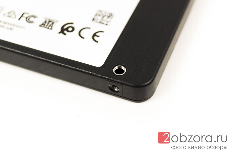 Обзор на SSD диск Crucial BX500 240 Gb 3D NAND (CT240BX500SSD1)