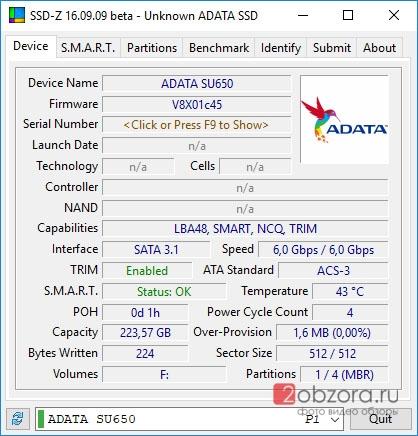 Adata SU650 ASU650SS-240GT-R