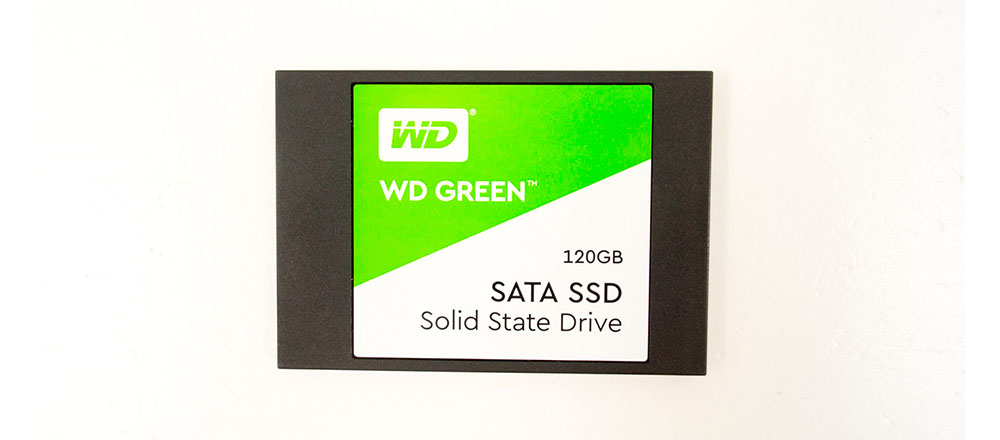 WDS120G2G0A или обзор на SSD диск WESTERN DIGITAL Green 120Gb 3D TLC второго поколения