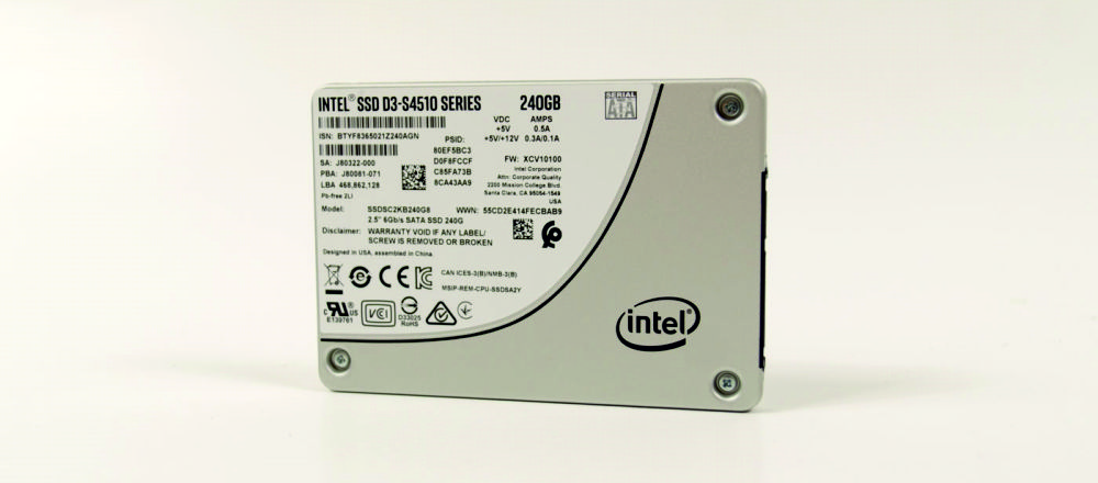 серверный SSD диск Intel D3-S4510 240Gb SSDSC2KB240G801