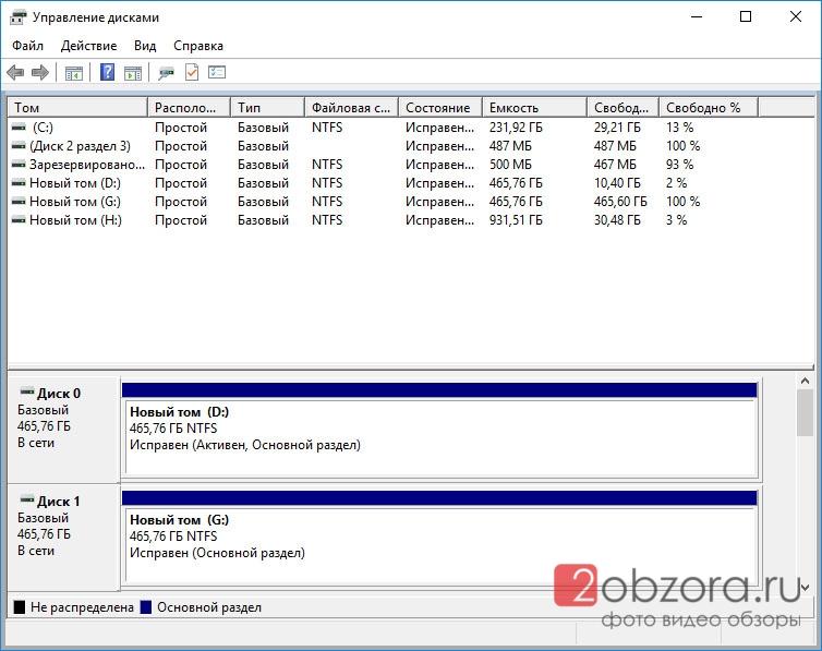 SSD диск WD Blue 500Gb (WDS500G2B0A) полный объем