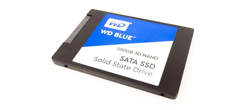 SSD диск WD Blue 500Gb (WDS500G2B0A) 2obzora.ru
