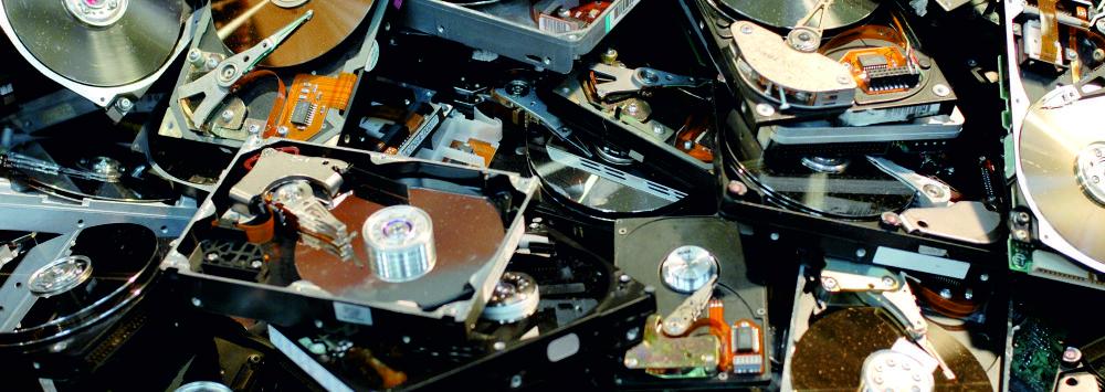 много HDD, много жестких дисков