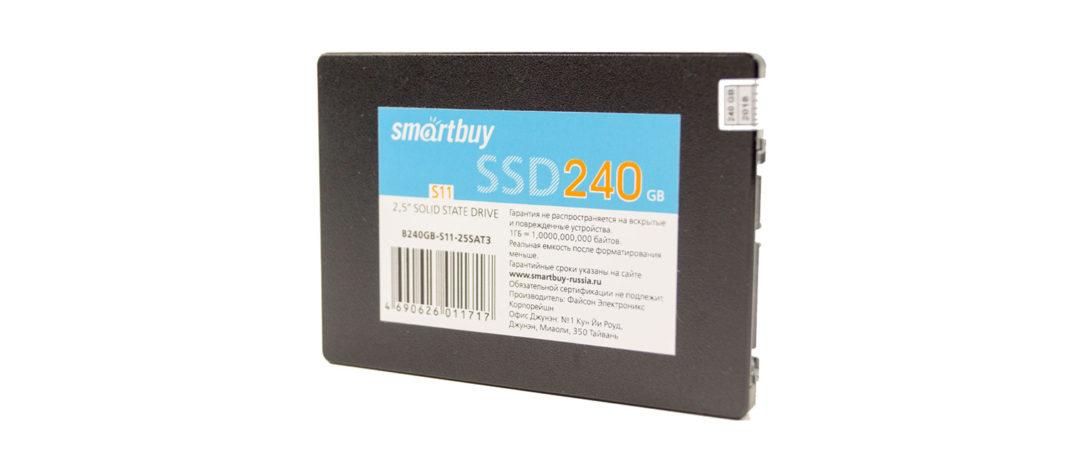 обзор Smartbuy S11 PS3111 240GB TLC (SB240GB-S11-25SAT3)
