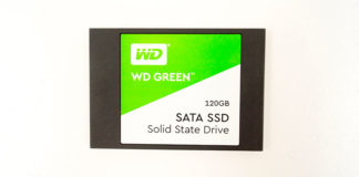WDS120G2G0A или обзор на SSD диск WESTERN DIGITAL Green 120Gb 3D TLC второго поколения