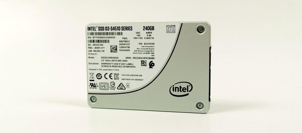 серверный SSD диск Intel D3-S4510 240Gb SSDSC2KB240G801